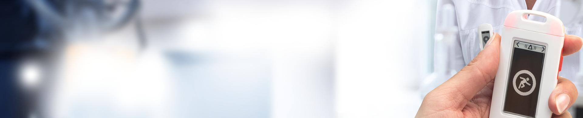 Bagde bluetooth PTI pour smartphone